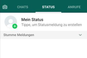 WhatsApp Beta für Android: Kontakte mit stummgeschaltetem Status werden automatisch ausgeblendet
