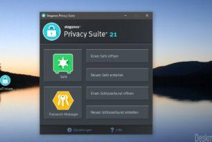 Steganos Privacy Suite 21 – Sicherer Schutz für Daten und Passwörter [Gewinnspiel]