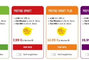 """Telekom """"LTE 25"""" bei ja! mobil & Penny Mobil verfügbar"""