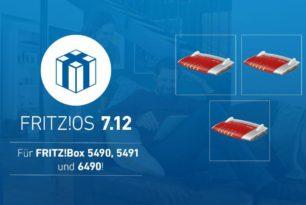 FRITZ!Box 6490 Cable erhält FRITZ!OS 7.12 als Update
