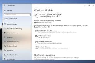 Windows 10 18990 steht für die Insider in Fast Ring und Skip Ahead bereit
