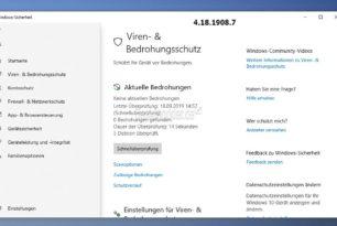 Windows Defender aktuell mit einem Scan-Problem  [Update und behoben: Es waren mehrere Signatur-Updates schuld]