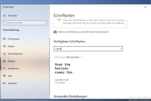 Windows Terminal 0.5.2661.0 jetzt mit integrierter Cascadia Code Schriftart und vielen Bugfixes