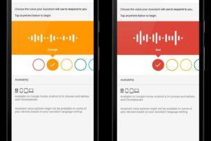 Zweite Stimme im Google Assistant einstellbar
