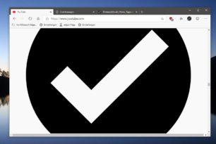 Edge Canary 80.0.315.0 mit YouTube Problem