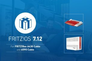 FRITZ!Box 6590 Cable und 6430 Cable mit FRITZ!OS 7.12