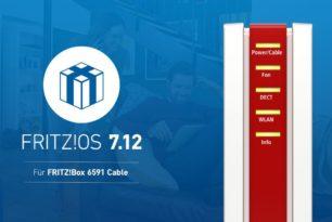 FRITZ!Box 6591 erhält nun FRITZ!OS 7.12