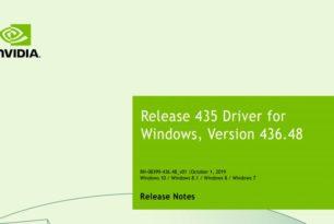 GeForce 436.48 WHQL Treiber steht zum Download bereit