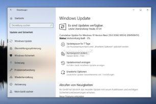 KB4508451 Windows 10 1909 18362.10024 (Manueller Download) Wechsel zwischen Slow und finaler Version nun möglich