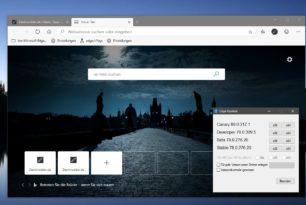 Microsoft Edge Dev 79.0.309.5 sowie die Canary 80.0.317.1 behebt den YouTube Fehler