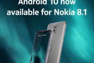 Nokia 8.1: Upgrade nach Android 10 wird verteilt