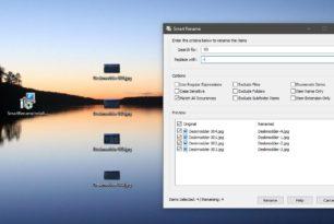 SmartRename – Bilder und Dateien über das Kontextmenü umbenennen