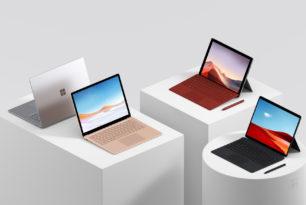Microsoft stellt Surface Pro X, Surface Pro 7 und Surface Laptop 3 vor
