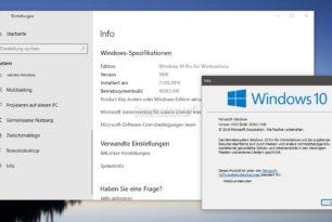 Windows 10 1909 ist nur ein Update – Daran muss man sich erst einmal gewöhnen
