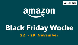 Amazons Black Friday Woche 22. bis 29. November.