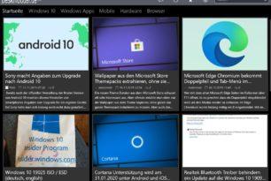 In eigener Sache: Deskmodder App (Windows) hat einen Fehler behoben