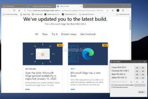 Microsoft Edge – Von der Stable bis Canary mit neuem Icon Neue Dev 80.0.320.3
