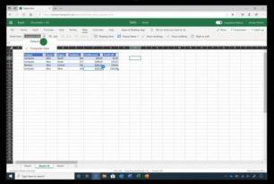 Excel Web – Filteransicht (Sheet View) wird nun auch im Menü angezeigt