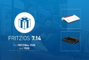 Fritz!Box 7530 und 7520 bekommen Fritz!OS 7.14