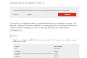 Security Baseline (Final) für Windows 10 1909 und Server 1909 – Neue Gruppenrichtlinien im Überblick