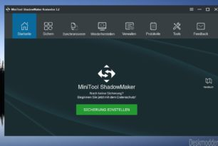 MiniTool ShadowMaker 3.2 – Backup-Programm nun in deutsch