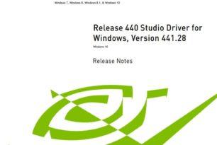 Nvidia 441.28 WHQL Studio und Quadro Treiber stehen zum Download bereit