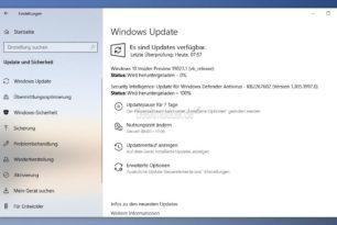 Windows 10 19023 steht für die Insider im Fast Ring bereit