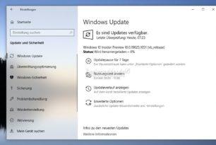 Windows 10 19025.1051 ist nun im Slow Ring angekommen