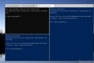 Windows Terminal 0.7 – Fenster teilen funktioniert nun und mehr