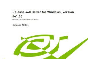 GeForce (Game Ready) und Studio 441.66 WHQL Treiber  steht zum Download bereit