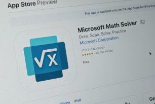 Microsoft Math Solver für iOS und Android