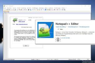 Notepad++ Editor als neue App im Microsoft Store