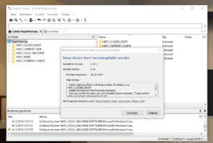 Registry Finder 2.41 mit einigen Verbesserungen