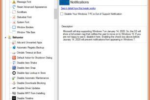 Winaero Tweaker 0.16.1 mit kleineren Verbesserungen auch für Windows 7 interessant