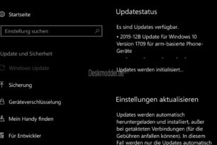Windows 10 Mobile 15254.600 2019-12B (KB4522812) – Das letzte Update