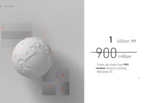 Steht Microsoft kurz vor der 1 Milliarde Windows 10 Installationen?