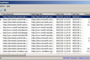 BrowserDownloadsView – Alle Infos zu den Downloads für Firefox, Chrome und Chromium