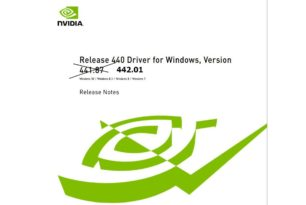 GeForce 442.01 Hotfix Treiber steht zum Download bereit