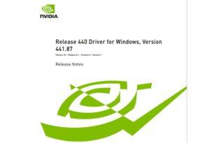 Geforce 441.87 Treiber mit FPS-Limiter und mehr steht zum Download bereit