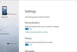 Ihr Smartphone App – Hintergrundbild vom Handy kann mit der App synchronisiert werden
