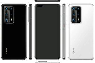 Huawei P40 Pro: Erstes Pressebild zeigt Smartphone mit 5 Kamerasensoren an der Rückseite