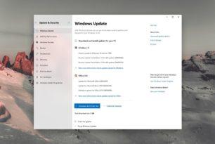 Konzept: Überarbeitete Windows 10 Update Einstellungen und Funktionen