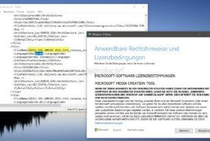 Das MCT lädt jetzt die Windows 10 1909 18363.592