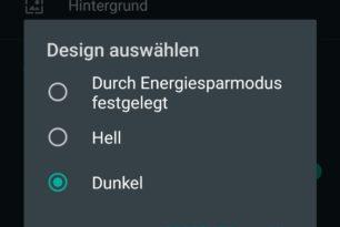 WhatsApp Beta für Android: Dark Mode (Dunkelmodus) verfügbar
