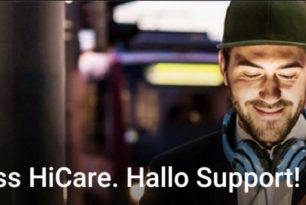 Huawei: HiCare App wird zur Support-App