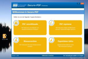 Secure-PDF – PDF signieren, verschlüsseln und mehr im kurzen Test [Gewinnspiel]