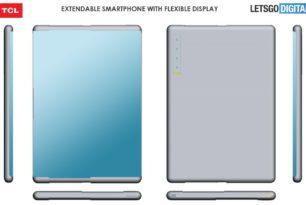 TCL Handy mit ausziehbarem Display (Slider)