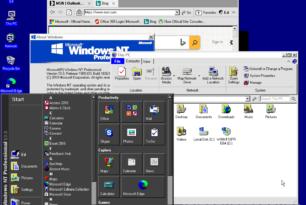 """""""Windows NT 10.0"""" als Mockup"""