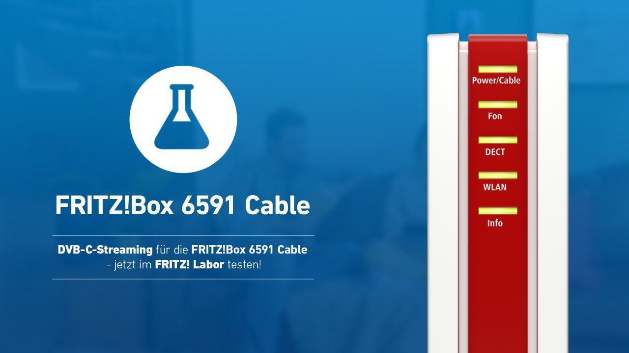 FRITZBox 20 Cable FRITZOS 20.20 Labor Update mit DVB C ...