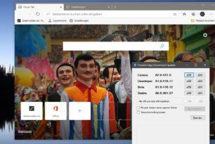 Microsoft Edge Beta 81.0.416.12 mit vielen neuen Funktionen (Changelog)
